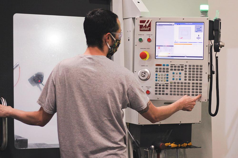 CNC Machine Operation